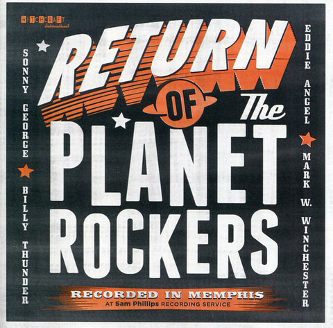 The Planet Rockers – Return Of The Planet Rockers CD (new)