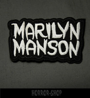 Marilyn Manson -patch, small