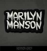 Marilyn Manson -kangasmerkki, pieni
