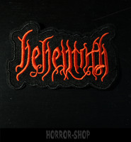 Behemoth punainen -kangasmerkki