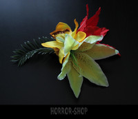 Hawaii tiki hair flower (1) big