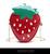 Sweet strawberry handbag