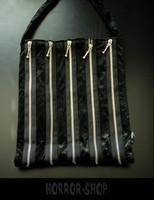 Sinister zipper zipper käsilaukku