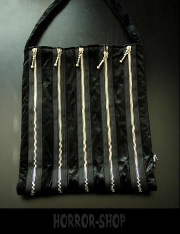 Sinister zipper zipper handbag