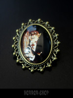 Dracula Brooch, small