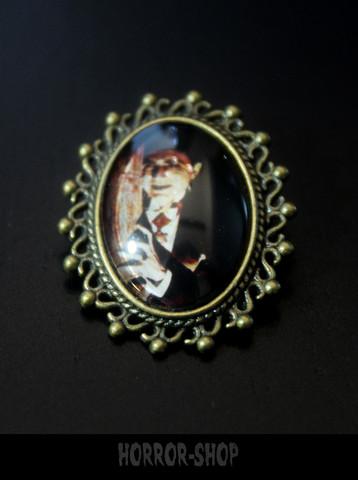 Dracula Brooch, small
