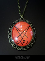 Lucifer sigil necklace, big