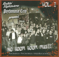 Various – No Boom Boom Music Vol. I CD (new)