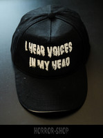 I hear voices in my head cap