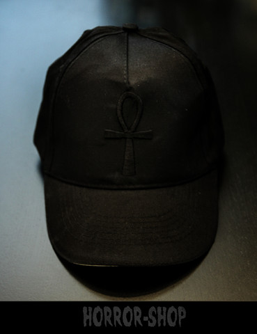 ANKH cap with black mark