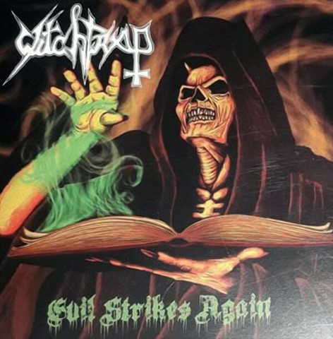 Witchtrap – Evil Strikes Again (CD, new)