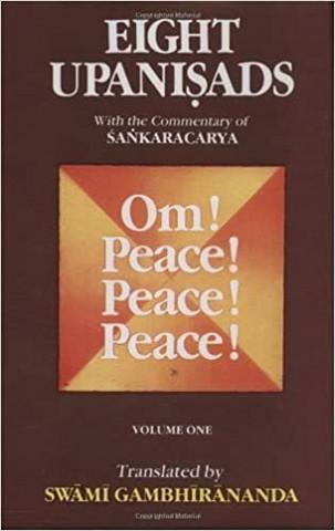 Eight Upanishads, with the Commentary of Sankara (käytetty)