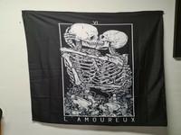 L'amoureux wall flag
