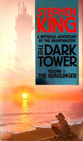 The Gunslinger (The Dark Tower #1) (Paperback Edition) by Stephen King (used)