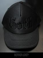 GOTH cap with black mark
