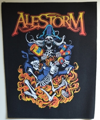 ALESTORM Pirate entry level -back patch