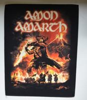 AMON AMARTH Surtur Rising -back patch
