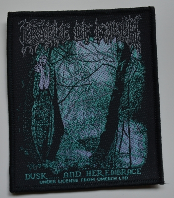 CRADLE OF FILTH - Dusk... And her embrace -patch