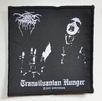 Darkthrone Transilvanian hunger Kangasmerkki