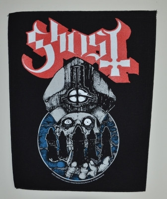 Ghost Papa warriors patch