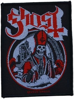 Ghost Secular haze kangasmerkki