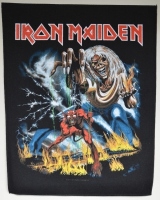 Iron Maiden Number of the beast selkälippu