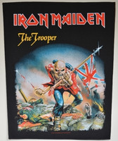 Iron Maiden The trooper  back patch