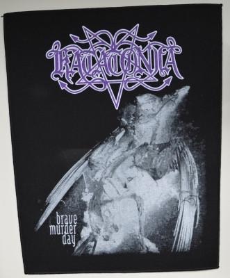 Katatonia Brave murder day  back patch