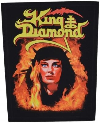 King Diamond Fatal portrait back patch