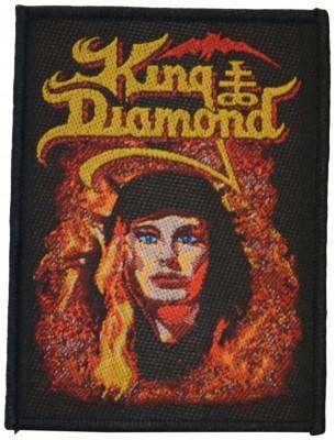 King Diamond Fatal portrait kangasmerkki