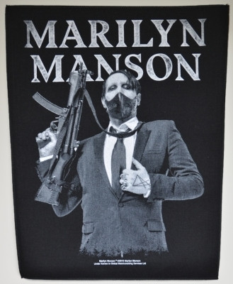 Marilyn Manson Machine gun selkälippu