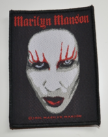 Marilyn Manson face patch