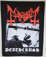 Mayhem Deathcrush backpatch