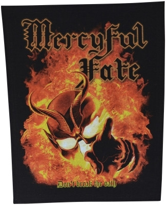 Mercyful Fate Don't break the oath selkälippu