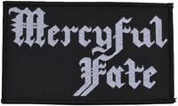 Mercyful Fate logo patch