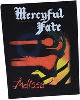 Mercyful Fate Melissa backpatch