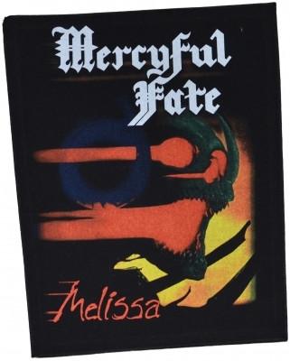Mercyful Fate Melissa selkälippu