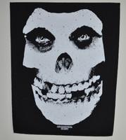 Misfits Face skull backpatch
