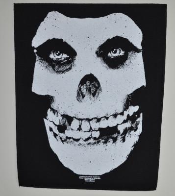 Misfits Face skull selkälippu
