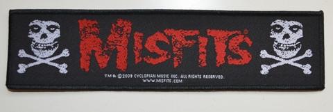 Misfits Cross bones patch