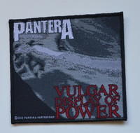 Pantera Vulgar display of power patch