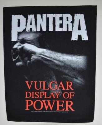 Pantera Vulgar display of power selkälippu
