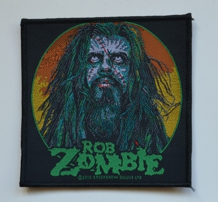 Rob Zombie face patch