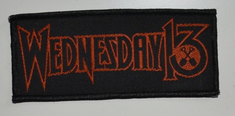 Wednesday 13 logo patch