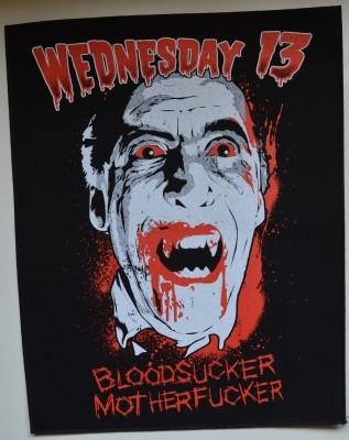 Wednesday 13 Blood Sucker selkälippu