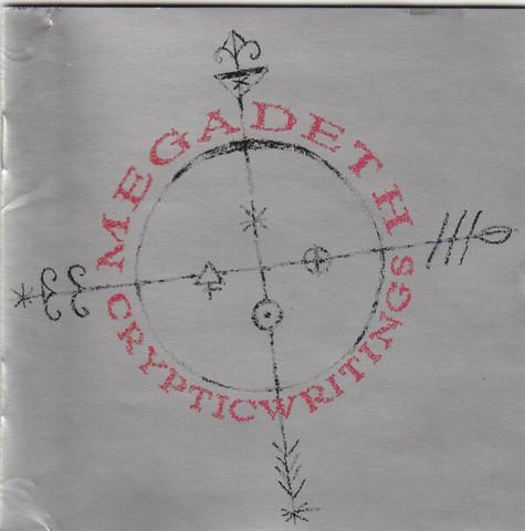 Megadeth – Cryptic Writings (CD, used)