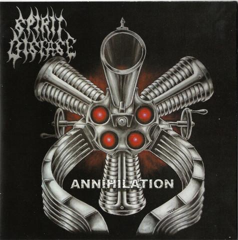 Spirit Disease – Annihilation (CD, käytetty)