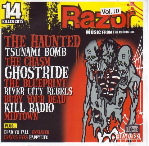 Metal Hammer Razor vol. 10 December 2004 CD (used)