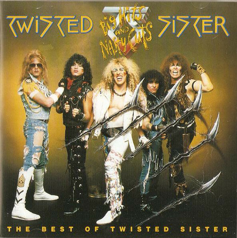 Twisted Sister – Big Hits And Nasty Cuts - The Best Of Twisted Sister  (CD, käytetty)