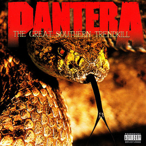 Pantera – The Great Southern Trendkill (CD, used)